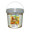 NESTOR Mancare ambalata la galetusa pentru canari. Cu fructe. 1000 K 115 700g