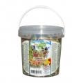 NESTOR Mancare ambalata la galetusa pentru papagali mari. Cu nuci si fructe. 1000 PD 117 460g