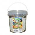 NESTOR Mancare ambalata la galetusa pentru papagali mijlocii. Cu fructe si legume 1000 PS 119 700g