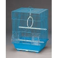 Colivie pentru papagali alba cod 2105  30x23x39cm