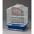 Colivie pentru papagali alba cod 2112 30x23x39cm