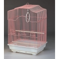 Colivie pentru papagali alba cod 3112-A  34,5x28x49,5cm